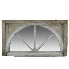 18th Century Georgian Wood Window Mirror