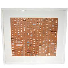 "Damien Hirst Bronze ""Pharmacy"" Wallpaper"
