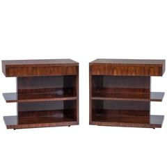Art Deco Inspired Hollywood Nightstands