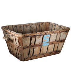 Antique Apple Orchard Basket