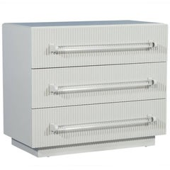 Carrocel Custom Collection Ribbed Facade Chest