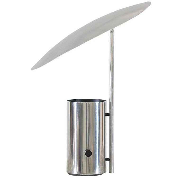 george nelson half nelson chrome reflector lamp for koch