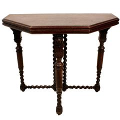 Dutch Convertible Side Table/Gaming Table, circa 1900