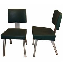 Pair of Mid-Century Good Form Aluminum Chairs