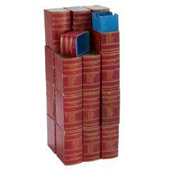 Red Book Boxes with Blue Interior