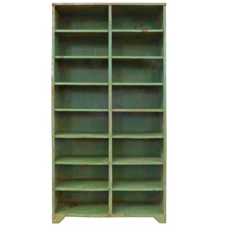 1930s French Industrial Shelving Unit