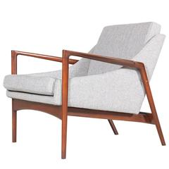 Ib Kofod-Larsen Sculpted Lounge Chair for Selig