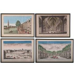 Set of Four 18th Century French Prints