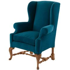 Antique French Wing Chair