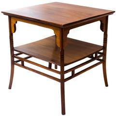 Anglo-Japanese Rosewood Side Table by E W Godwin