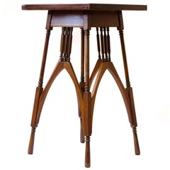 M H Baillie Scott for The Guild Of Handicraft A Rosewood & Mahogany Side Table