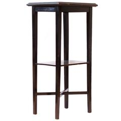 Aesthetic Movement Style Tile-Top Side Table