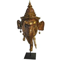 Ganesha Khon Elephant Dance Mask