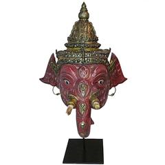 Small Ganesha Khon Elephant Mask