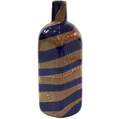 Rare Handblown Glass Vase by Giulio Radi