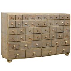 Swedish Apothecary Chest from the 19th Century