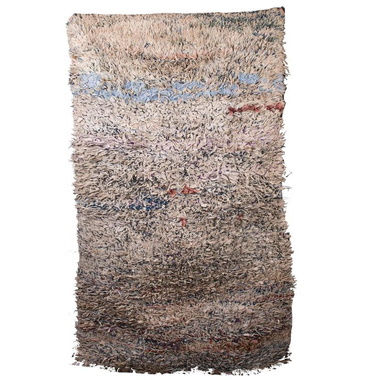 Moroccan Boucherouite Rug For Sale At 1stdibs: Morocco For Sale At 1stdibs