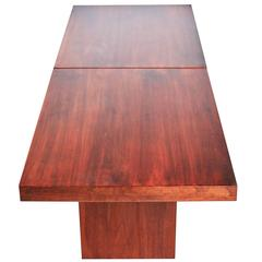 John Keal Walnut Extendable Coffee Table for Brown Saltman, circa 1960