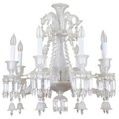 Baccarat Eight Arm Crystal Chandelier