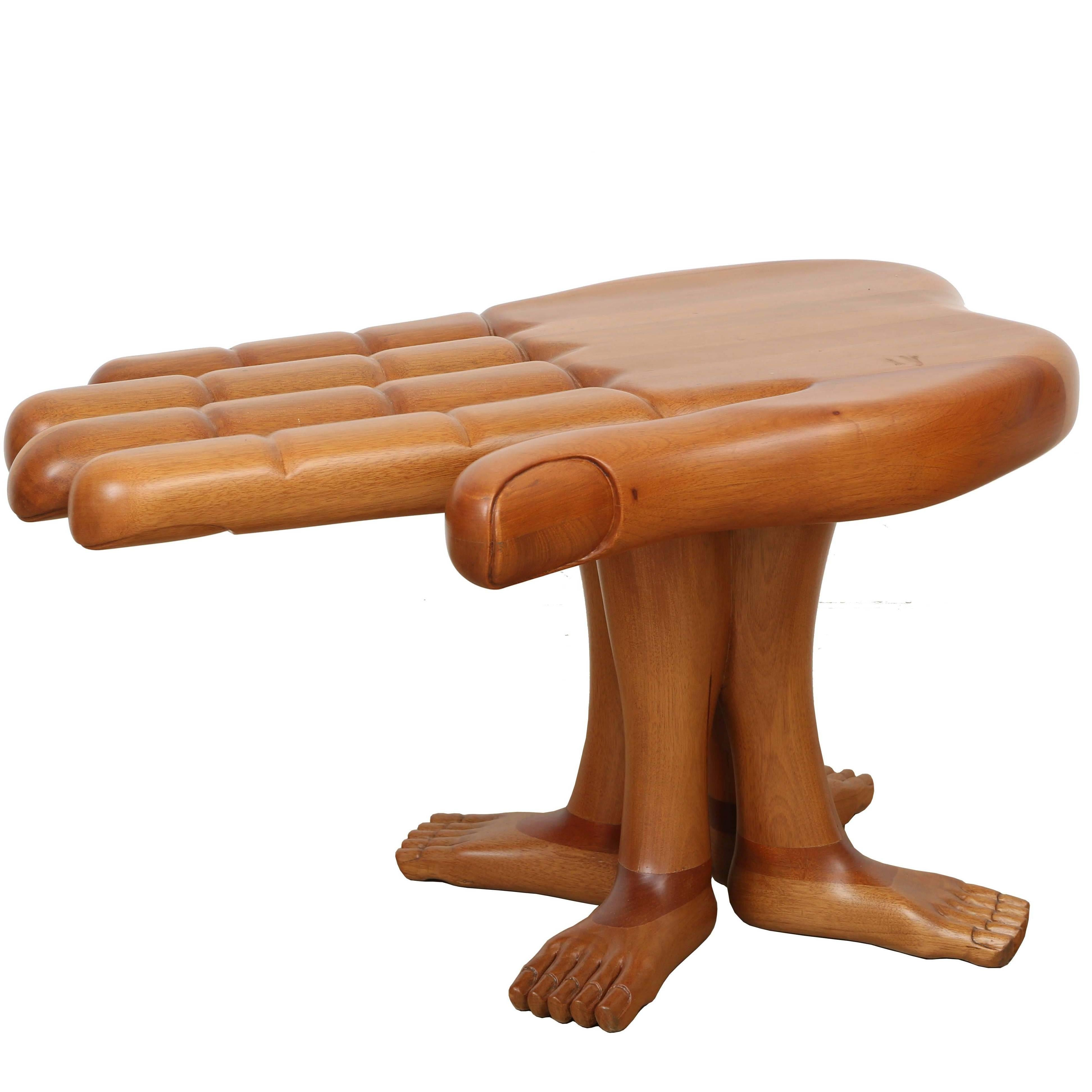 20th Century Mexican Surrealist Table by Pedro Friedeberg For Sale ...