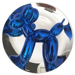 Jeff Koons Dog, Blue 2002