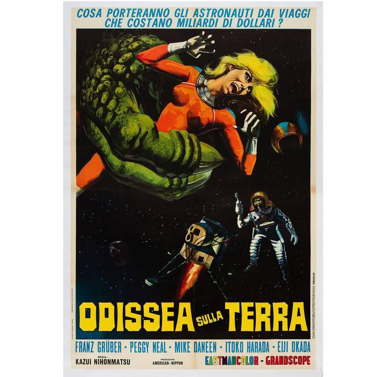 X from Outer Space Original Italian 2-Foglio Film Poster, 1969