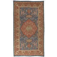 Antique Double-Sided Angora Oushak Rug