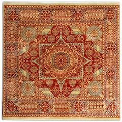 Mamluk Style Hand-Knotted Oriental Rugs, Carpet from Eqypt