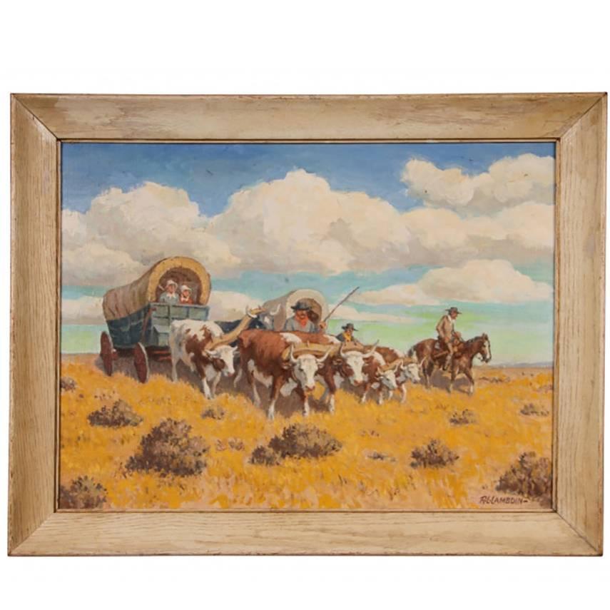 Robert Lambdin Oil on Canvas