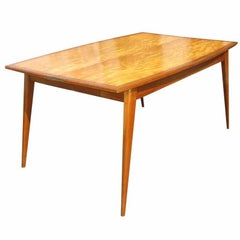 Mid Century Expandable Console Table
