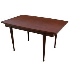 Vintage Danish Mahogany Dining Extension Table to 80""