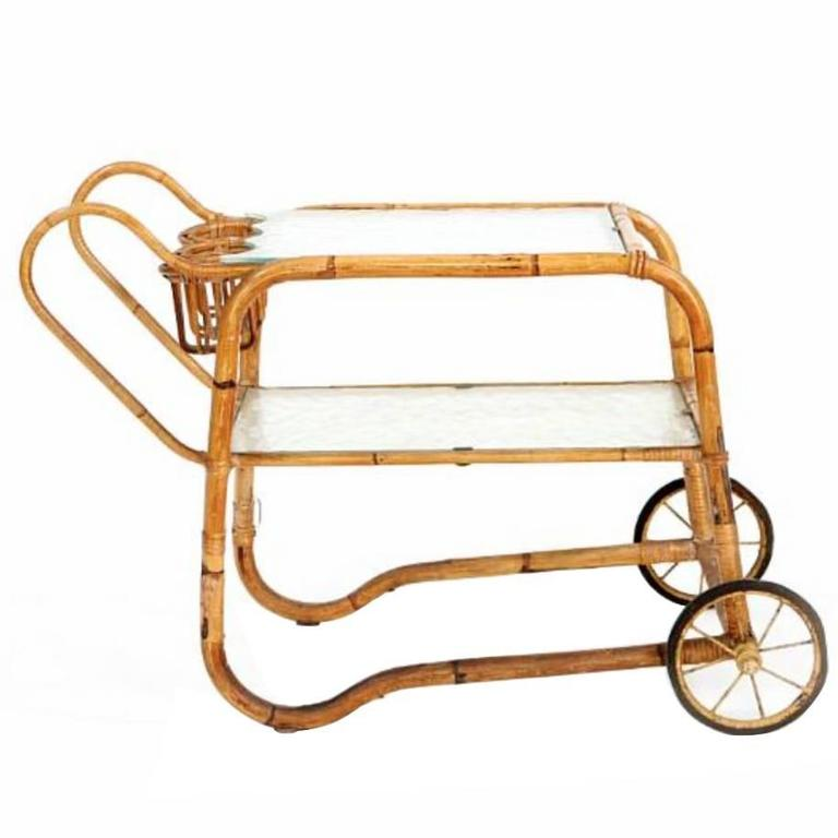 Viggo Boesen Bamboo Bar Cart