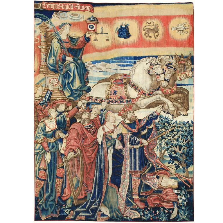 "Tapestry ""The Triumph of Time"""
