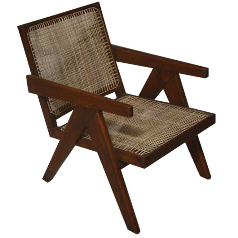 Pierre Jeanneret  Easy Armchairs, circa 1955 For Sale