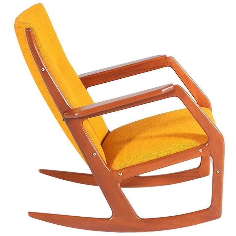 Georg Jensen Model-100 Rocking Chair for Kubus Møbler