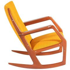 Georg Jensen Model-100 Rocking Chair for Kubus Møbler