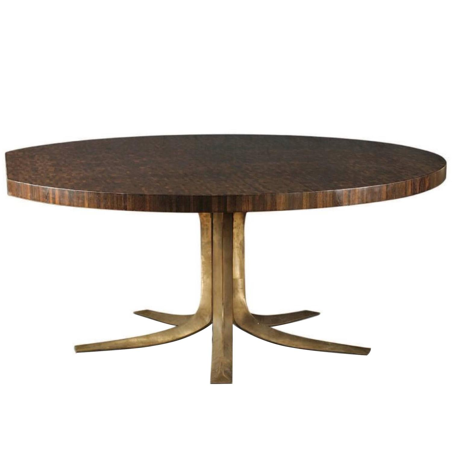 Iconic pan coup meeting table by jules wabbes end for Iconic tables