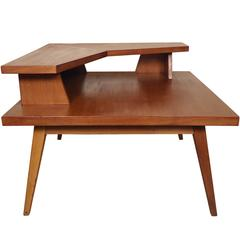 Mid-Century Two-Tier Coffee Table