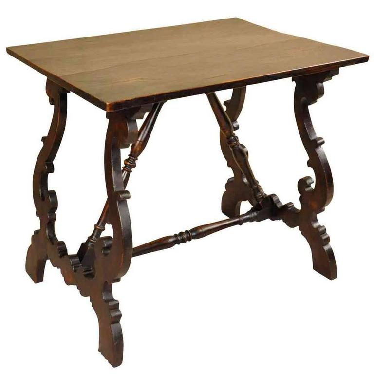 Spanish 19th Century Side Table, End Table
