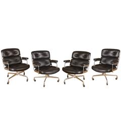 Set of Four Eames 'Time-Life' Executive Chairs for Herman Miller