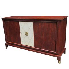 Modernist Three-Door Sideboard