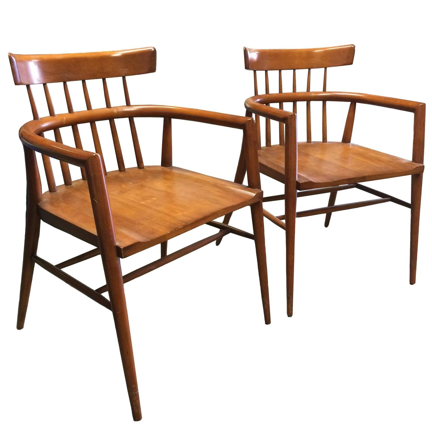 Paul McCobb Maple Armchairs for Winchendon For Sale at 1stdibs