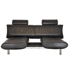 Vintage Swiss De Sede Sofa or Chaise Longue, 1980s