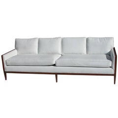 7FT Vintage Restored Stow Davis Sofa