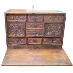 "End of 16th Century Portugal   ""Writting desk"" with Drawers,Bargueno"