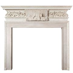 18th Century Sir Henry Cheere Fireplace