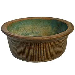 Tall Ceramic Bowl from Indonesia