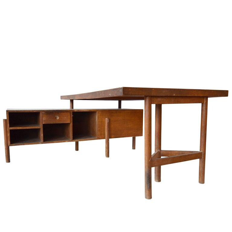 "Pierre Jeanneret ""Junior Officer's Desk,"" 1957-1958 For Sale"