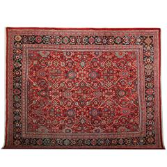 Antique Rugs, Persian Carpet from Sultanabad