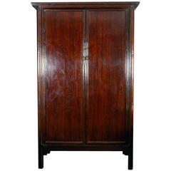 Tall Mahogany Cabinet, Armoire